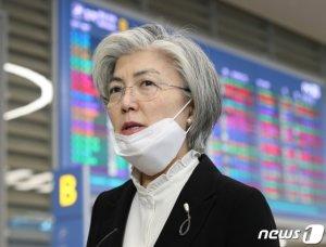 """미국도 한국인 입국제한?…강경화 """"美와 긴밀히 공조"""""""