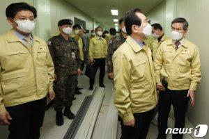 """軍, 대구·청도지역 방역 실시…""""코로나19 대응에 자원 총동원"""""""