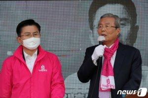 다급해진 통합당, '조국', '코로나' 맹공…서울 집중 유세