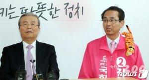 김대호 전격 제명키로…관악갑 김성식 '단일화 효과'