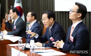 자녀 '당성'확인까지…통합당 원내대표 경선 '난타전'