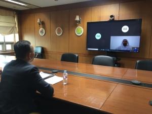 한-UAE 원자력 협력 화상회의…