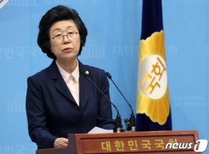 [단독]이은재, '통합 열차' 탑승 시도…미래한국당에 입당 신청
