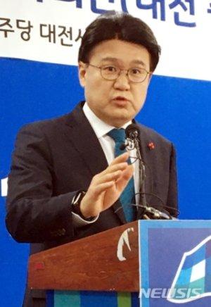"""통합당, 황운하 '조건부 의원면직' """"사상 초유 일"""" 비판"""