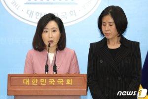 통합당 비례대표 전원 '준연동형 비례대표제 폐지법' 발의