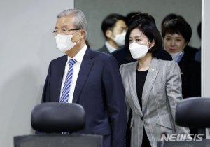 통합당 초선들 앞에서 정부 코로나 대응 칭찬한 김종인?