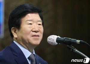 6선 박병석, 국회의장 선출… 193표 중 191표 '득표'
