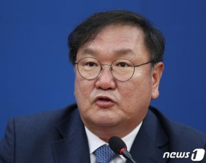 """김태년  """"통합당에 '원구성' 공 넘긴다 …전향적 입장 변화 촉구"""""""