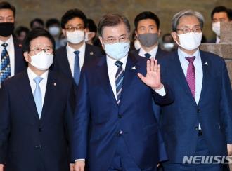역대 가장늦은 개원연설..