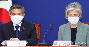 외교·국방부, UN장관회의 공동주최…아프리카에 마스크 6만장