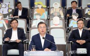 한국판뉴딜 14일 발표, 네이버·현대차 화상연결..노·사·당·정 결집
