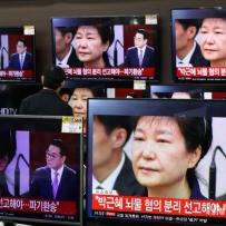 """與 """"박근혜 광복절 특사? 파렴치한 짓…아직 대법원 재판중"""""""