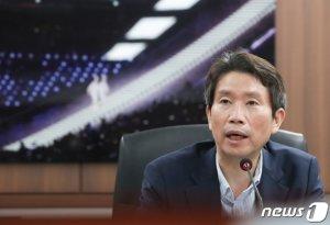"""이인영, 6.15 남측위와 보건협력 등 논의…""""대화복원 노력하겠다"""""""