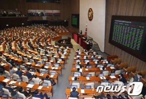 [속보]'부동산 3법' 국회 본회의 통과
