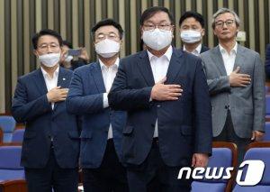 """민주당 """"표결 안 한 통합당, '가짜 임차인' 마음 아니었나"""""""