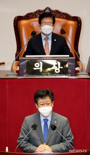 돌봄휴가, 본회의 통과 '194분'…코로나 민생에 정쟁 멈췄다