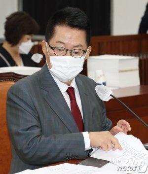"""박지원 """"국정원, 국내정치에 관여 못하게 법률로 규정할 것"""""""