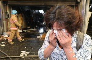 점포 20곳 불탄 청량리시장, 화재안전 C등급