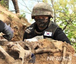 6·25 전쟁 중국군 유해 117구, 27일 中에 인도