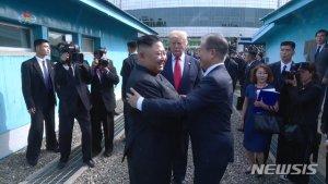 """[전문]文대통령-김정은 친서…""""좋은날 하루빨리 오기를"""""""