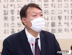 """윤석열, 秋 비판 """"'중상모략' 가장 점잖은 표현"""""""