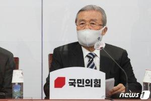 """野, 라임·옵티머스 '특검' 총력…김종인 """"특검 강력 촉구"""""""