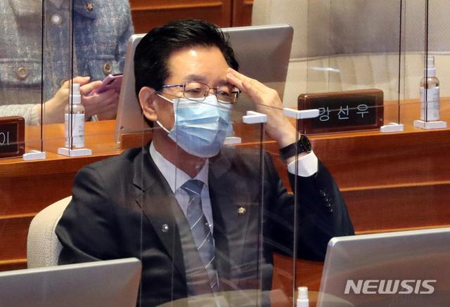 '운명의 날' 정정순, 체포동의안 오늘 표결…