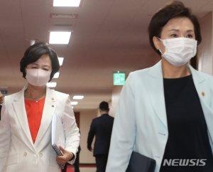 추미애 아닌 김현미 깜짝 교체…'윤석열 징계'까지 버티기