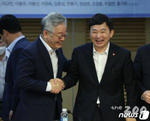 """공수처 장외 신경전, 이재명 """"의금부""""에 원희룡 """"디스?"""""""