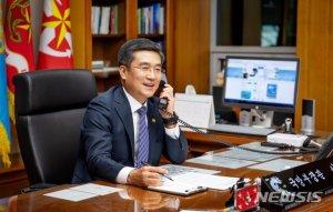 """美 국방장관 """"한미동맹은 동북아 평화의 핵심축"""""""