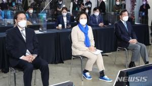김대중·노무현과 인연 강조…민주당 적자 경쟁 '우·박 남매'