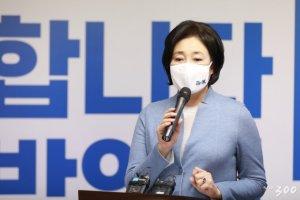 """박영선 """"민심·당심 거의 동일…본선 승리할 후보 누구인가"""""""