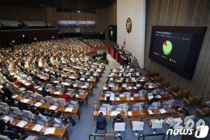 가덕신공항 '181명' 찬성 통과…선거 앞 '졸속국회' 전락