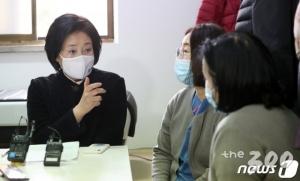 '與 서울시장 후보' 박영선의 첫날, 'K방역 주역'부터 찾았다