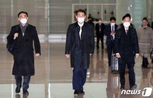 """정은보 대사 출국…""""韓·美 '방위비' 상당부분 공감…타결 기대"""""""