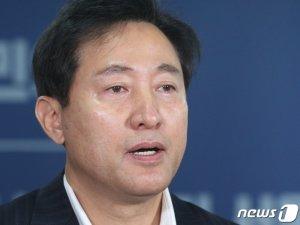 """오세훈 """"與 '조직선거' 대응하려면 '기호 2번' 유리"""""""