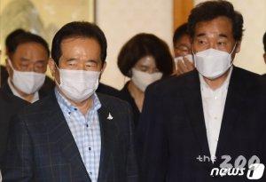 '총리·호남·안정' 공통분모 라이벌, 이낙연·정세균의 맹추격