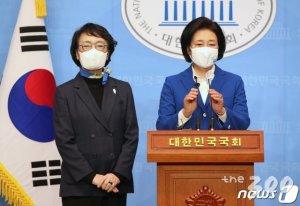 '박영선-김진애' 진통 끝 단일화 합의…17일 최종 후보 발표