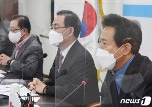 """""""엉터리 공시가 고치자""""…오세훈·원희룡·국민의힘, 힘모았다"""