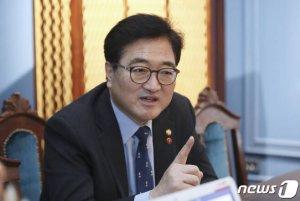 """당권 도전 우원식 """"친문·비문 아닌 민생…'원팀'으로 500만표 더 가져오겠다"""""""