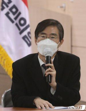 """당권 도전하는 조경태 """"김종인이 제대로 한 게 뭐냐"""""""