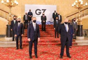 """정의용, G7에서 """"공평한 코로나19 백신 위한 국제공조 절실"""""""