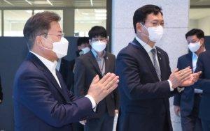 문 대통령, 14일 민주당 신임 지도부와 티타임…청문보고서 논의