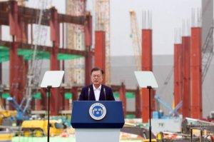 """文대통령 """"510조 투자, 2030년 세계 최고 반도체 강국 된다"""""""