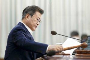 文대통령, 김부겸 국무총리 임명…'오늘부터 임기 시작'