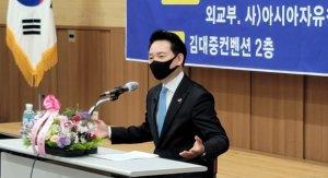 """'DJ적자' 장성민, 호남서 文정권 '규탄'…""""사이비 민주집단"""""""