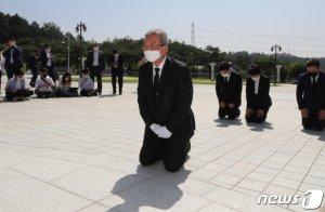 김종인 '무릎 사죄' 통했나…5·18 추모제에 국민의힘 의원 첫 초청