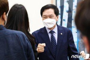 """김기현, """"김오수 청문회? 법사위원장 먼저 내놓아야"""""""
