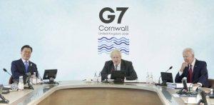 "G7과 머리맞댄 文대통령 ""韓, 글로벌 백신허브 수행가능"""