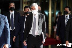 성김 美대북대표, 오늘 오후 靑방문 文대통령 접견